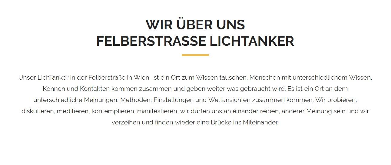 Lichtanker Felberstrasse Wien